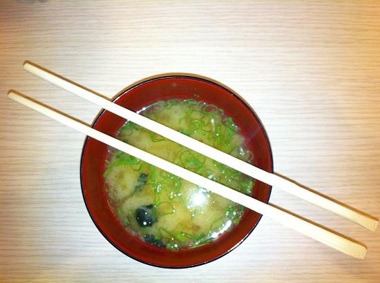 zuppa di miso | Poporoya