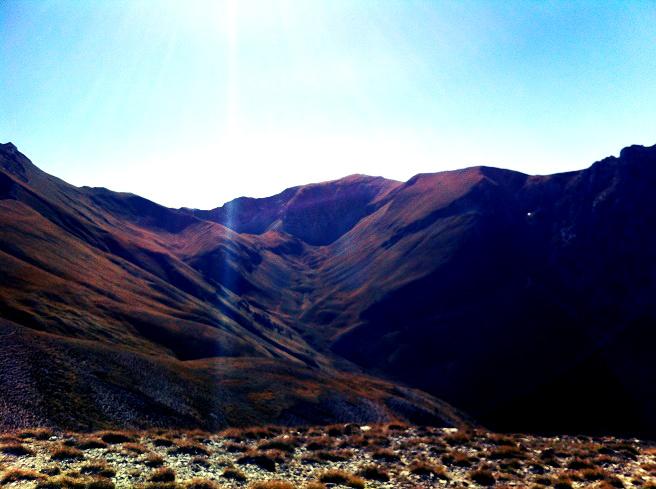 Rifugio del Fargno landscape