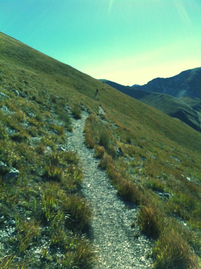 Sentiero rifugio del fargno