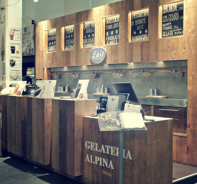 gelateria alpina Eataly Bari | Foodtrip and More
