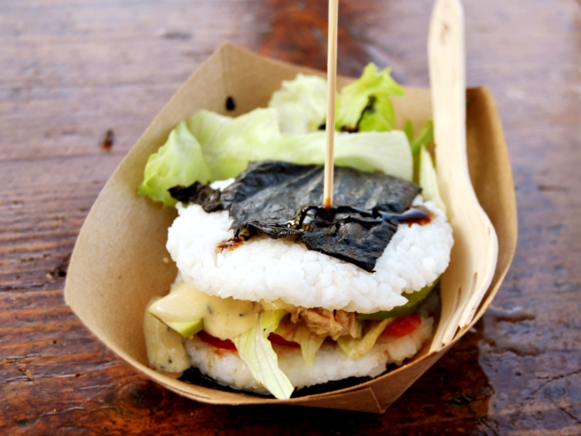 Sushi burger Degustivan | Foodtrip and More