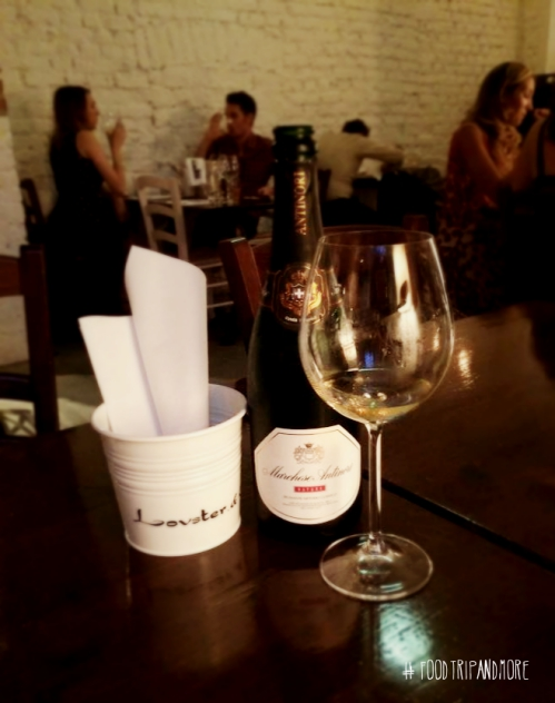 Marchede Antinori Nature Brut Lovster & Co Milano | Foodtrip and More