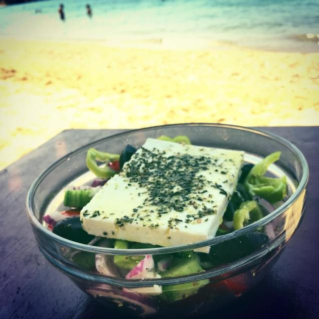 greek salad in skiathos | Foodtrip and More