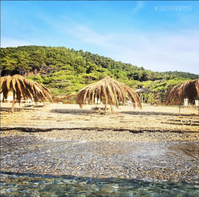 Agistros beach in Skiathos | Fodtrip and mORE